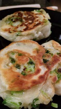 Edmonton Green Onion Cakes Scallion Pancakes, Asian Noodles, Gruyere Cheese, Tasting Menu, Dim Sum, Dumpling, Green Onions, Antipasto, Dinner Tonight
