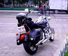 H-D Super Glide Custom 2013 with Burly Ape Handlebars displaying support plate for President Rodrigo R. Duterte, Philippines.