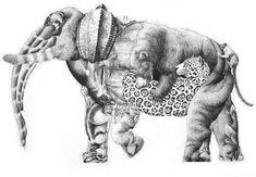 Esta imagen de un elefante esconde muchos animales en peligro de extinción. ¿Sabrías decir cuántos y cuáles?. Se trata de una ilusión óptica sencilla con la que poner a contar a los más pequeños de...