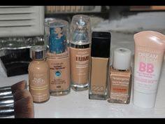 My Top Drugstore Foundations for Acne & Oily Skin - DianaSaldana