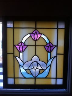 Arts and Crafts Antique Stained Glass Windows