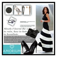 """""""Amorium/6"""" by amira-1-1 ❤ liked on Polyvore featuring Dolce&Gabbana, Victoria Beckham, Amorium, women's clothing, women's fashion, women, female, woman, misses and juniors"""