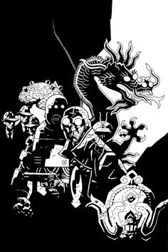 Mike Mignola: Lobster Johnson, The Iron Prometheus, Trade Cover