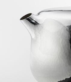 marc newson designs sculptural silver tea service for georg jensen