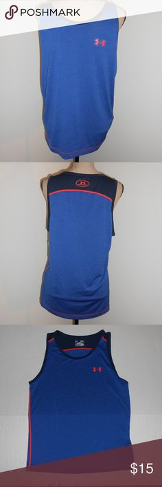 Under Armour HeatGear Tank Sz Medium Under Armour heatgear tank sz medium. Great condition. Under Armour Shirts Tank Tops