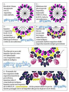 P@tty Perline: Rosa Carolingia Pattern superduo - 3