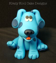 Blue's Clues Cake Topper