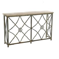 MBW Furniture - Wrought Iron Deep Ocean Finish Boxwood's Medium Console Table, $1,868.75 (http://www.mbwfurniture.com/wrought-iron-deep-ocean-finish-boxwood-s-medium-console-table/)