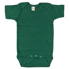 AmazonSmile: Unisex Baby Plain Blank Solid Cotton Short Sleeve Infant Bodysuit Onesie: Baby