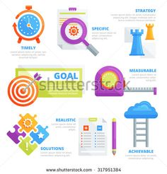 Corporate Productivity Goal Poster