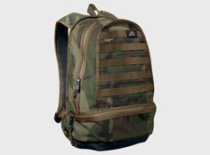 This month Nike SB has released their classic backpack in a new camouflage colorway. A couple of years ago the Nike SB luggage line had its high times, with new interesting colors coming every few months. Since then not much has changed, until now. This new camouflage colorway comes at the right time and is now in stock from SB retailers.
