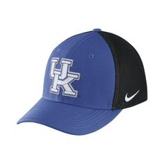 Nike™ Men's University of Kentucky Classic99 Cap (Blue, Size Flex Fit) - NCAA Licensed Product, NCAA Men's Caps at Academy Sports