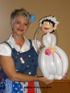 balloon art - Google Search Would be so cute for that bridal tea or shower!!