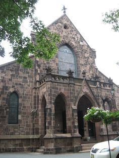 Kirkpatrick Chapel on the College Avenue Campus. Rutgers alumni can get married there--if they get on the list in time!