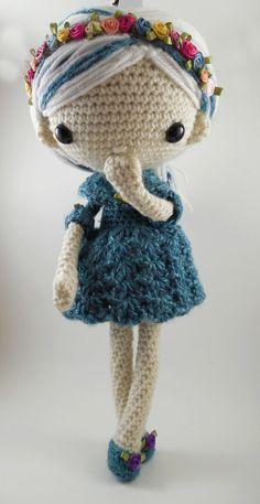 Azul Amigurumi Doll Crochet Pattern PDF by CarmenRent on Etsy