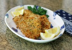 Panko Crusted Haddock Fillets, tried this and they were awesome. I used Italian seasoned panko crumbs.