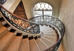 old world stair railings - Google Search