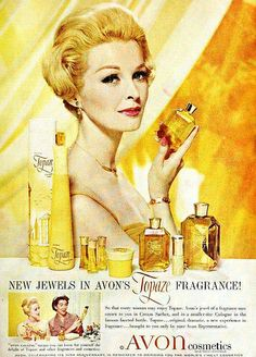 Avon's Topaze Fragrance, June 1960 by The Bees Knees Daily, via Flickr