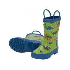 Hatley Boys' Rainboots Dinos