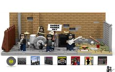 LEGO Ideas - Ramones: One, Two, Three, Four!