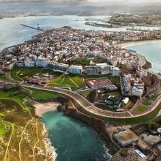 Spain, Galicia, A Coruña  ✈✈✈ Here is your chance to win a Free Roundtrip Ticket to Galicia, Spain from anywhere in the world **GIVEAWAY** ✈✈✈ https://thedecisionmoment.com/free-roundtrip-tickets-to-europe-spain-galicia/