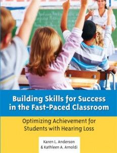 """The Bible of Deaf Education  you have to have this book! """"Building Skills for Success in the Fast-Paced Classroom""""."""