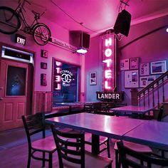 Lander Bar, Lander, Wyoming