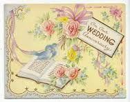 Image result for vintage wedding anniversary cards