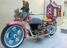 The Grayson Perry Motorbike @ Tomb of the Unknown Craftsman (British Museum)