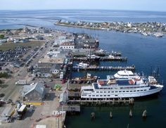 Narragansett, RI - The Port of Galilee ~ One of my favorite places to be!