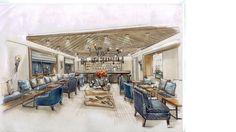 new Rendering for Hotel - Bar