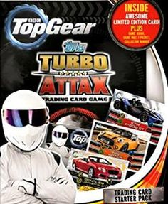 Top Gear Turbo Attax Trading Card Game