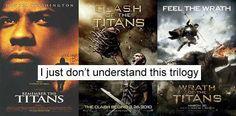 Titans Confusing Trilogy