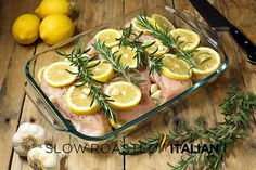 Rosemary Lemon Roasted Chicken Breasts are the best roasted chicken recipe ever! Lemon Roasted Chicken, Lemon Rosemary Chicken, Rosemary Recipes, Roasted Chicken Breast, Lemon Recipes, Cooking Recipes, Healthy Recipes, Cooking Time, Healthy Meals