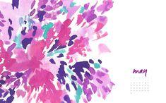 May 2015   May Designs http://maydesignsblog.tumblr.com/post/117820835120/floral-splash-desktop-and-phone-backgrounds