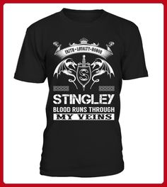 STINGLEY Blood Runs Through My Veins - Shirts für singles (*Partner-Link)
