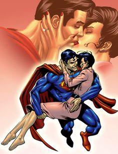 Superman-Lois Colors by ~DashMartin on deviantART