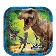 Jurassic World Dessert Plates 8ct