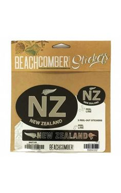 New Zealand, Separate, Pride, Packing, Stickers, Silver, Fun, Gifts, Outdoor