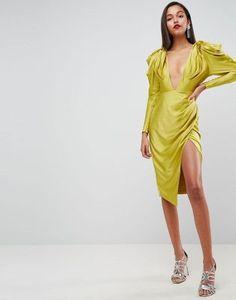 Discover Fashion Online Yellow Midi Dress, Asos, Dresses Online, Fashion  Online, Party 988f094620a