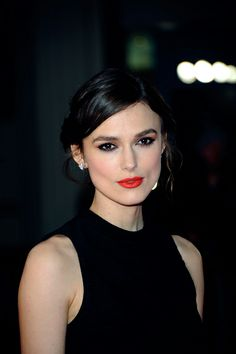 Keira Knightley Beautiful and sophisticated.