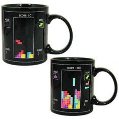 Tetris Heat Change Mug