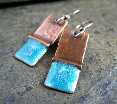 A blog about creating handmade metalwork jewellery in copper, bronze, sterling silver and enamel.