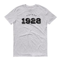 90th Birthday - Vintage 1928 - unisex