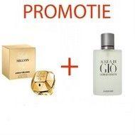 Parfum Lady Million 100 ml +Aqua di Gio 200 ml + Cadou caciula BLUSH FOND DE TEN SI SOSETE