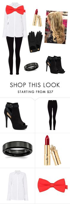 """""""Agent 48"""" by hollieaskew ❤ liked on Polyvore featuring Apt. 9, Lipsy and Mulberry"""