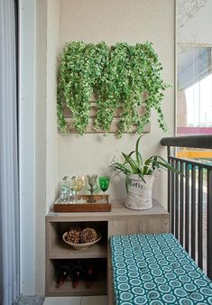 You can make a big statement with something small. These 5 super cool, small backyard and garden design ideas make the perfect examples. Small Balcony Decor, Tiny Balcony, Balcony Design, Balcony Ideas, Small Balconies, Garden Design, Apartment Balcony Decorating, Interior Decorating, Interior Design