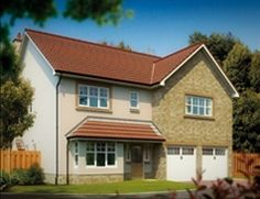 These impressive new houses for sale in are located on the outskirts of the town, in a semi rural setting, and are perfect for growing families. New Homes For Sale, Detached House, Scotland, Families, Farmhouse, Houses, Cabin, Mansions, Bedroom