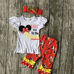 """Take Me To The Mouse"" Set"