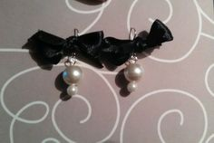 Handmade pearl earrings in Earrings | eBay